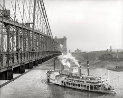 Steam Under the Bridge: 1906