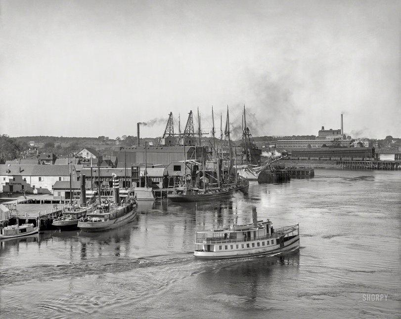 Portsmouth Wharves: 1907