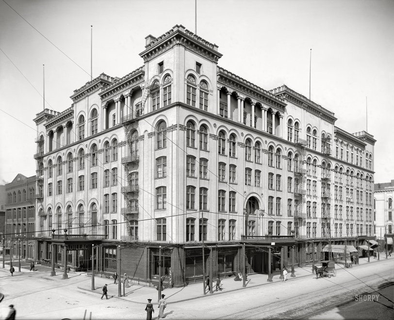 Cadillac Corner: 1906
