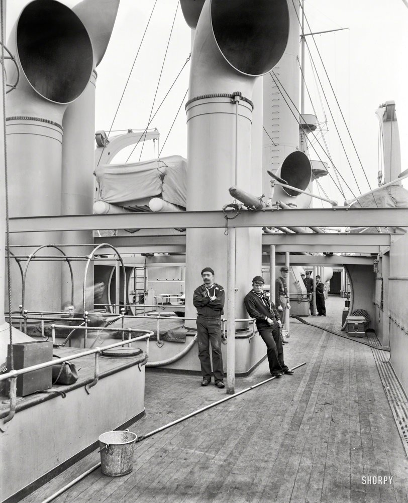 Spar Deck Swabbies: 1898