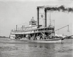 Sternwheeler Staples: 1910