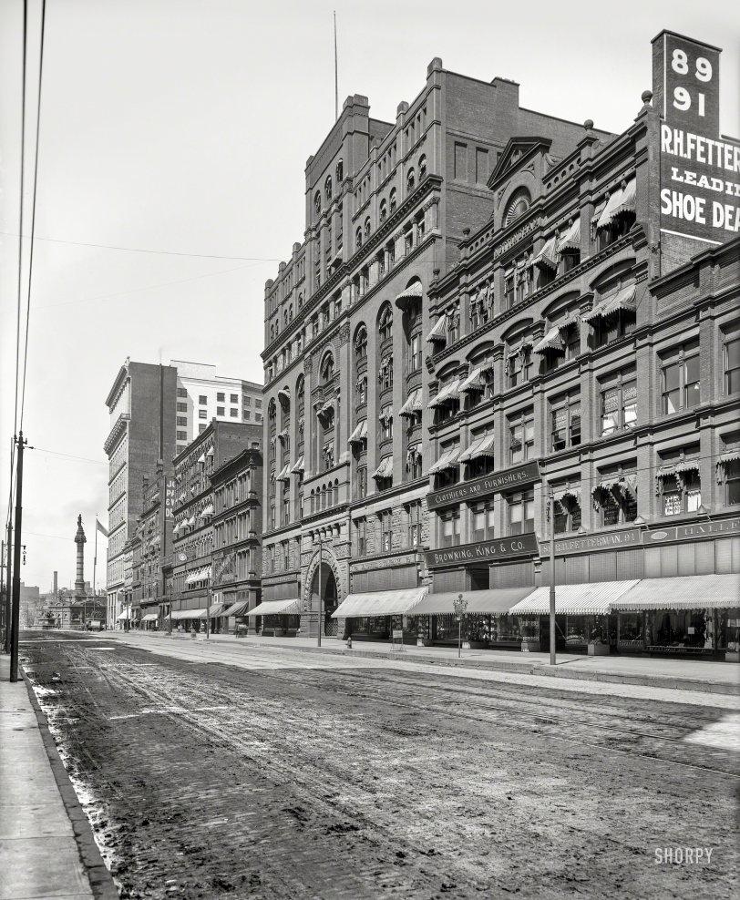 Cleveland Arcade: 1900