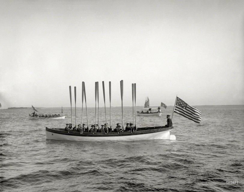 Boat Drill: 1899