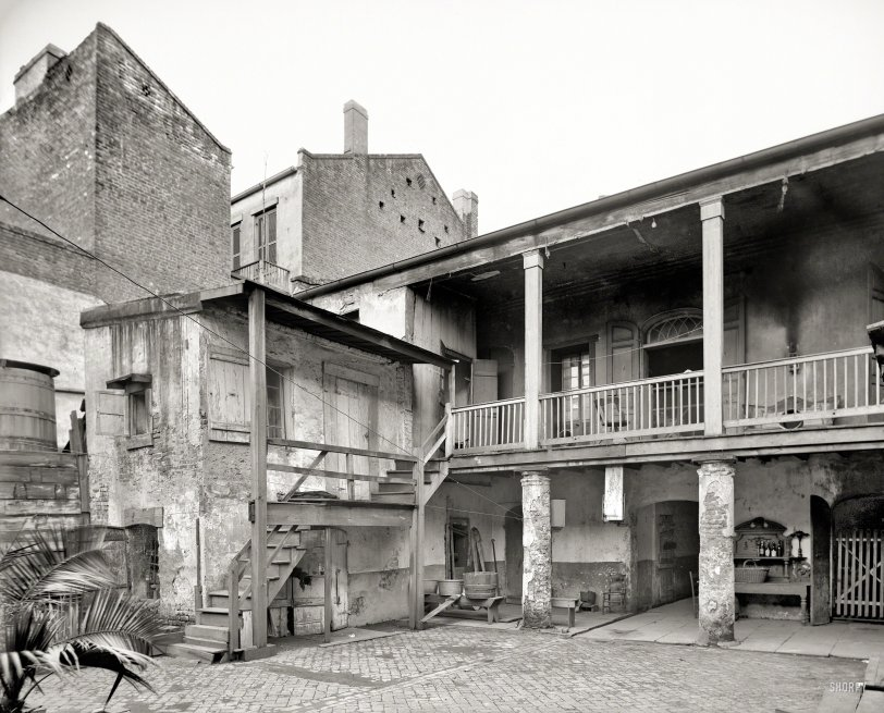 The Courtyard: 1903