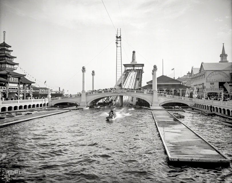 Shooting the Chutes: 1905