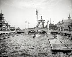 Shooting the Chutes: 1905