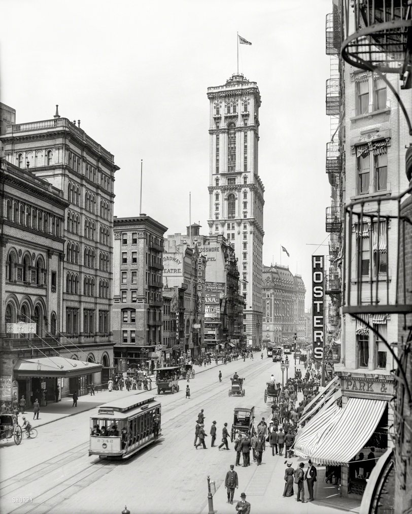 On Broadway: 1905