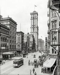 On Broadway: 1905