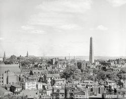 Bird's Eye Boston: 1890s