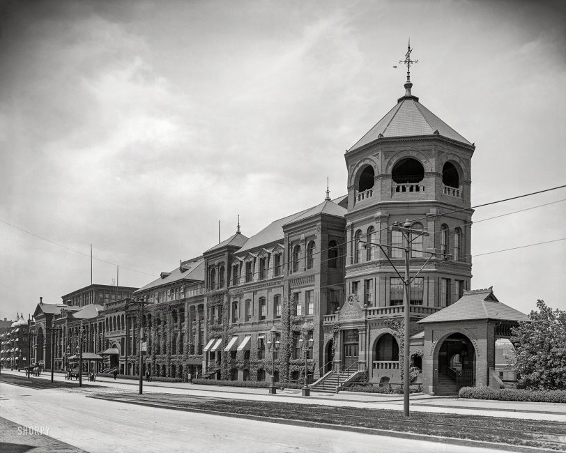 Mechanics Hall: 1906