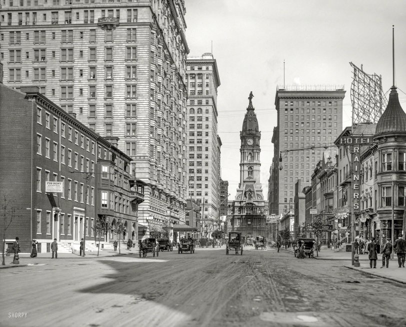 North From Locust: 1907