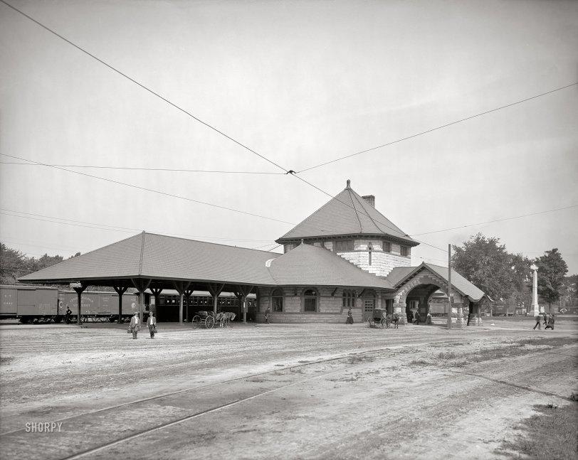 Laconia Depot: 1907