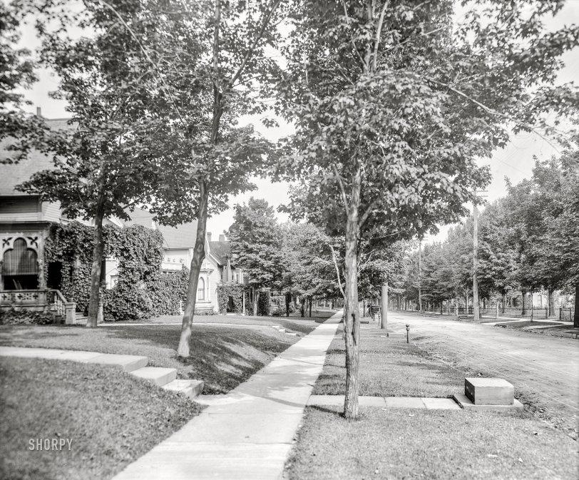 Ridge Street: 1908