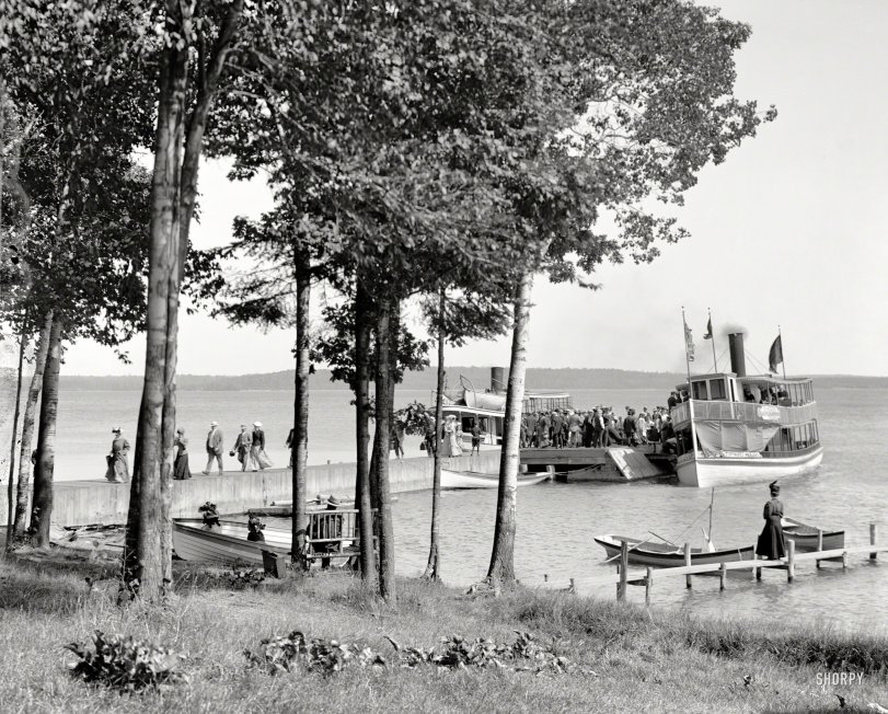 Topinabee Landing: 1910