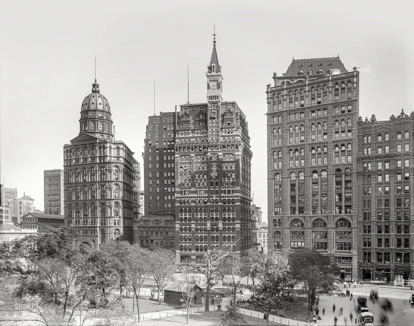 Newspaper Row: 1905