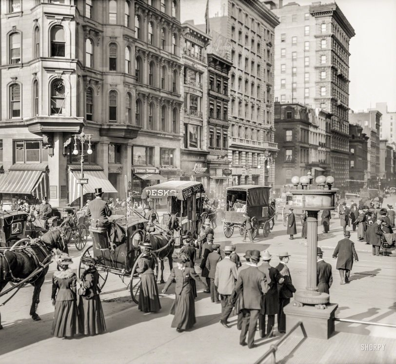 Along Fifth: 1908