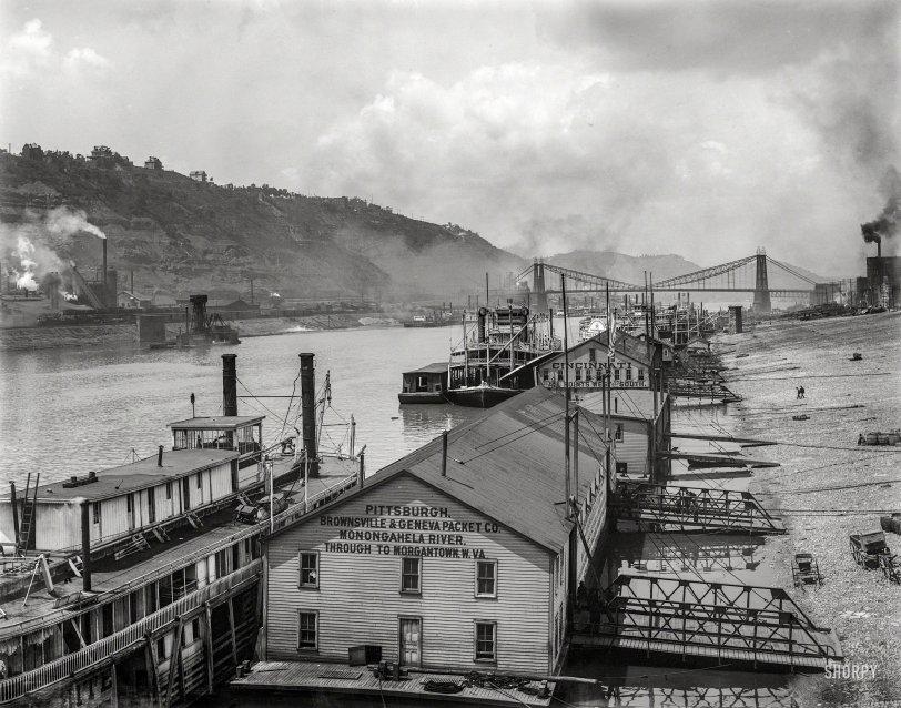 Through to Morgantown: 1905