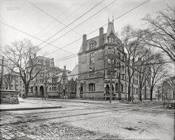 God and Mansard at Yale: 1905