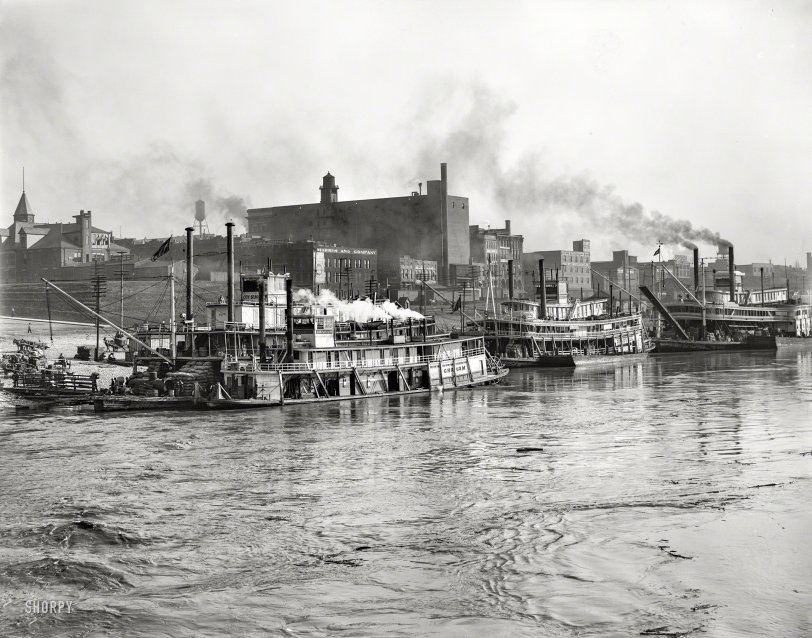 The Levee: 1908