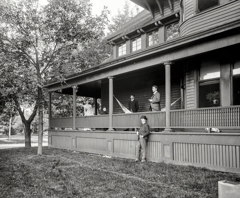 Peeps and Pup: 1900