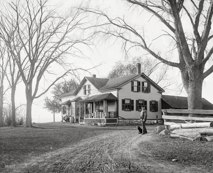 Churchill House: 1904