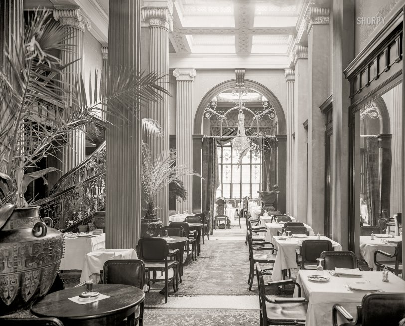 Palm Court Cafe: 1903