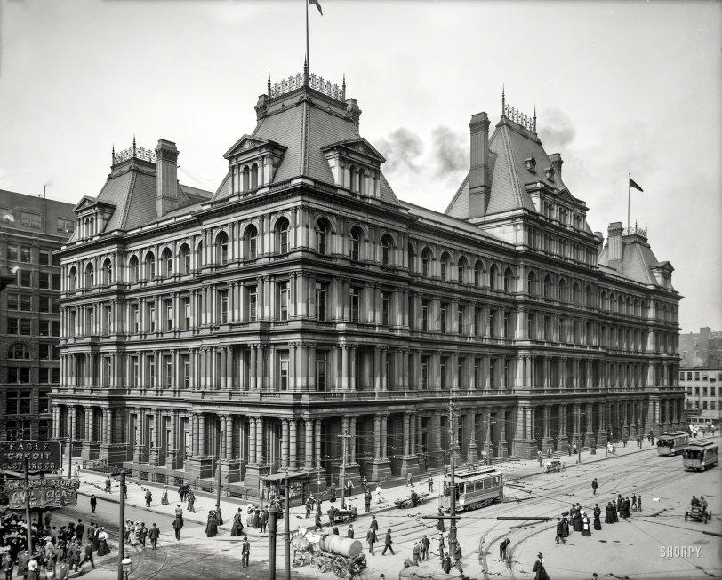 Municipal Palace: 1907