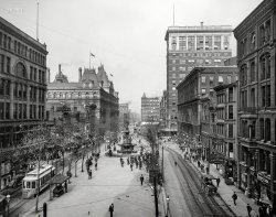 Fountain Square: 1907