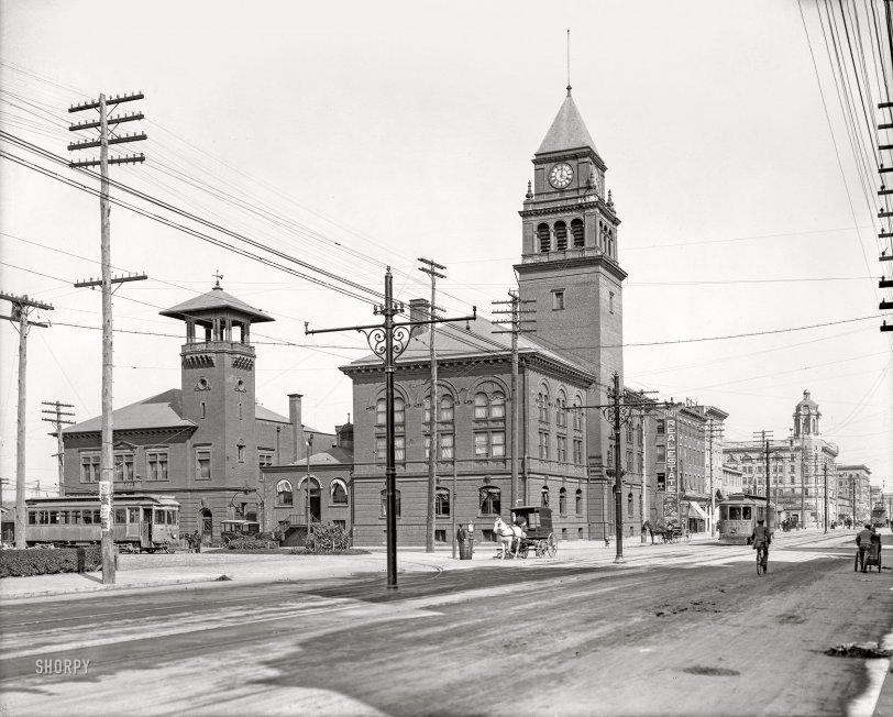 Atlantic City City Hall: 1907