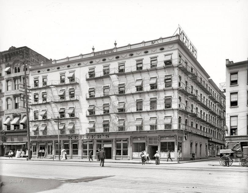 Keeler's Korner: 1908