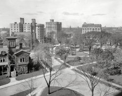 Grand Circus Park: 1908