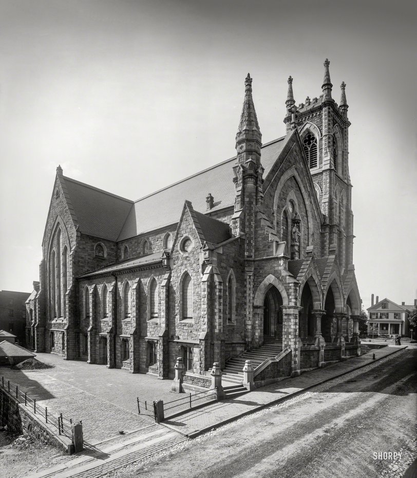 Worcester Cathedral: 1908