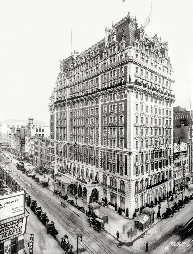 There's a Tall Hotel: 1907