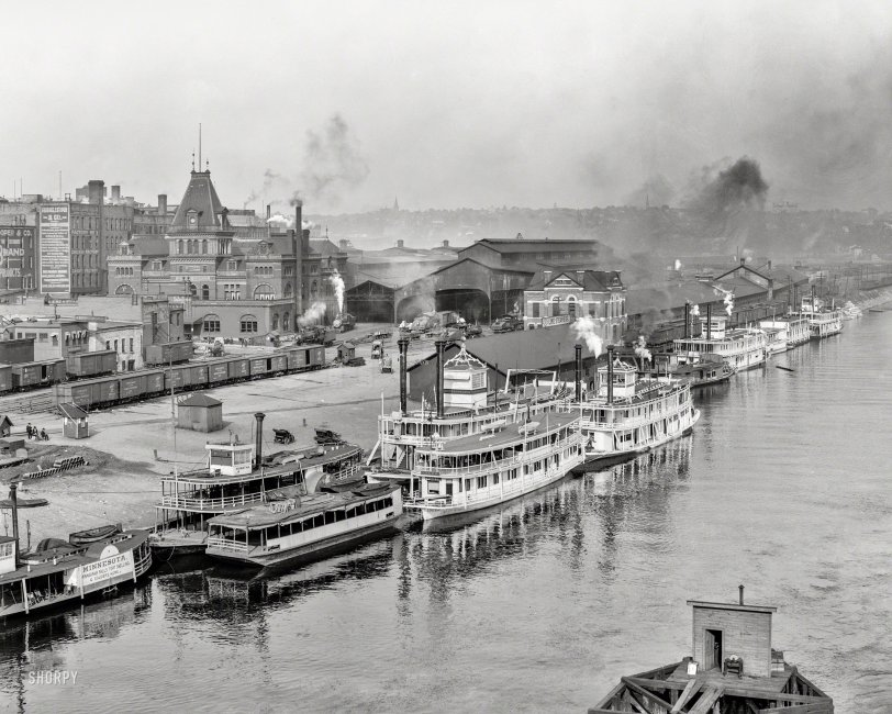 Rolling on the River: 1908