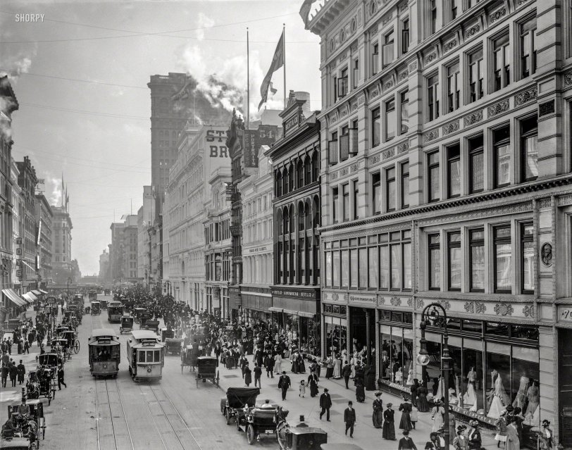 Thronged Thoroughfare: 1908