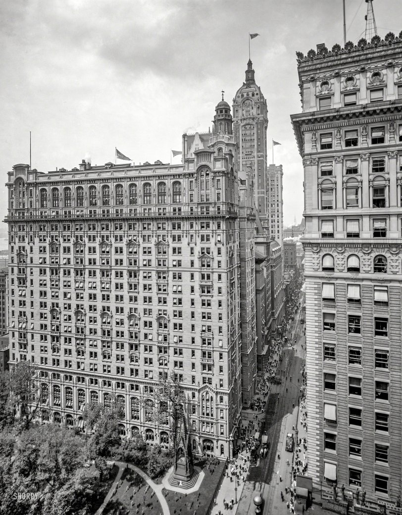 New York Skyscrapers: 1908