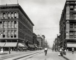 Sixteenth at California: 1908