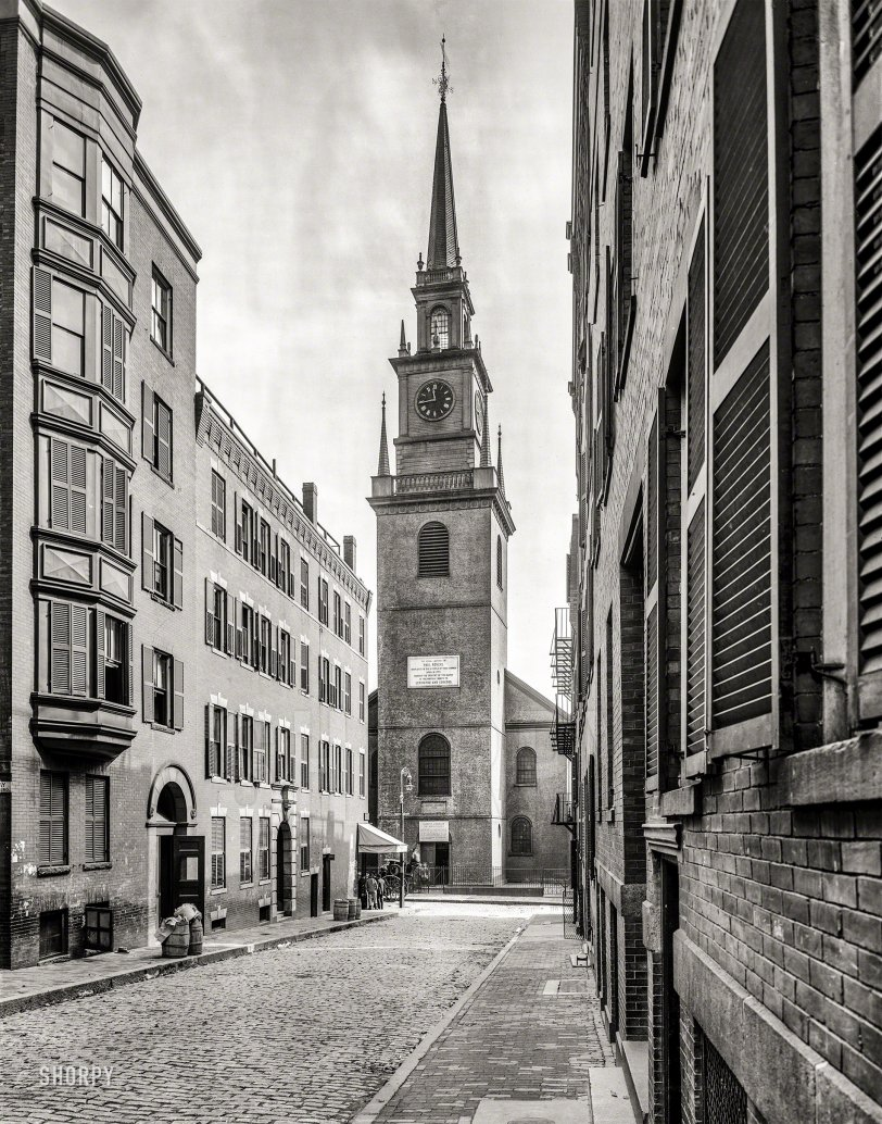 Old North Church: 1909