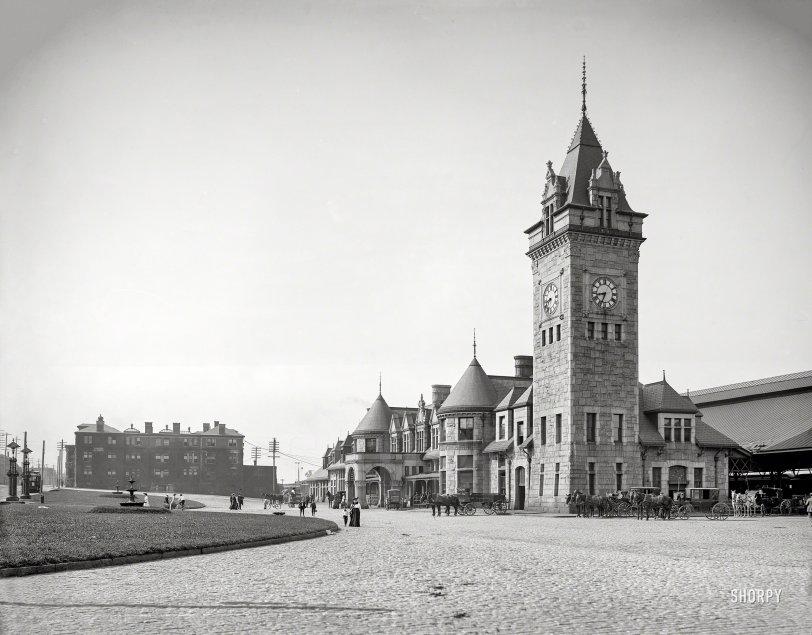 Portland Depot: 1909