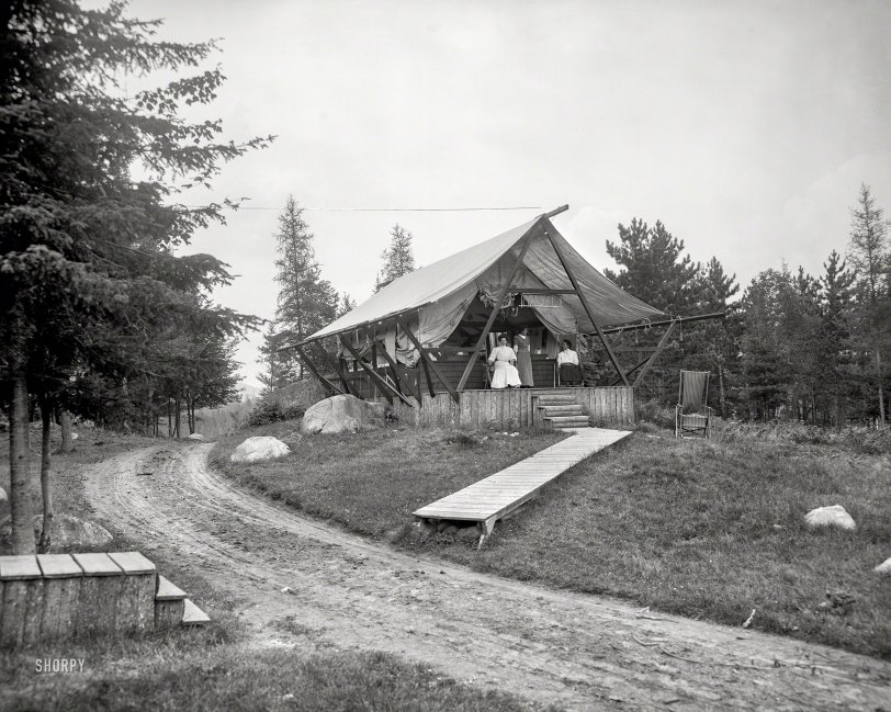 A Tent Called Mabel: 1909
