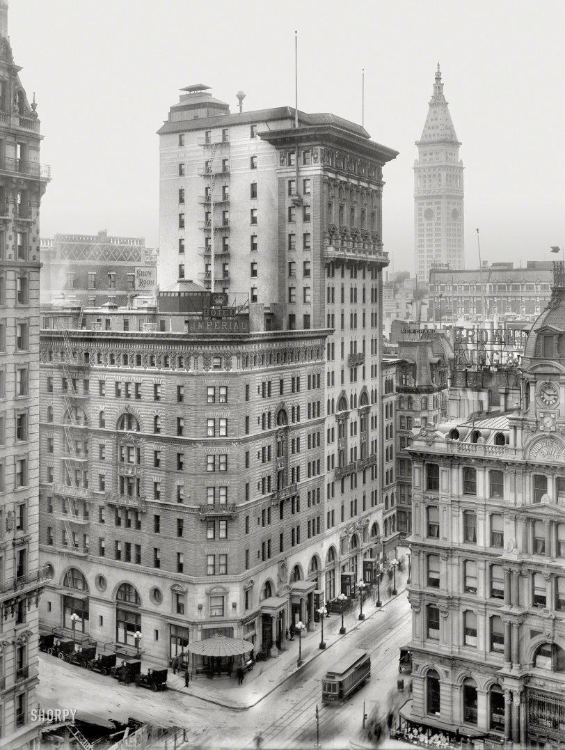 Hotel Imperial: 1909