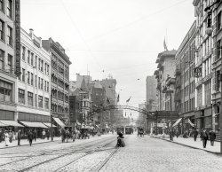 South From Chestnut: 1910