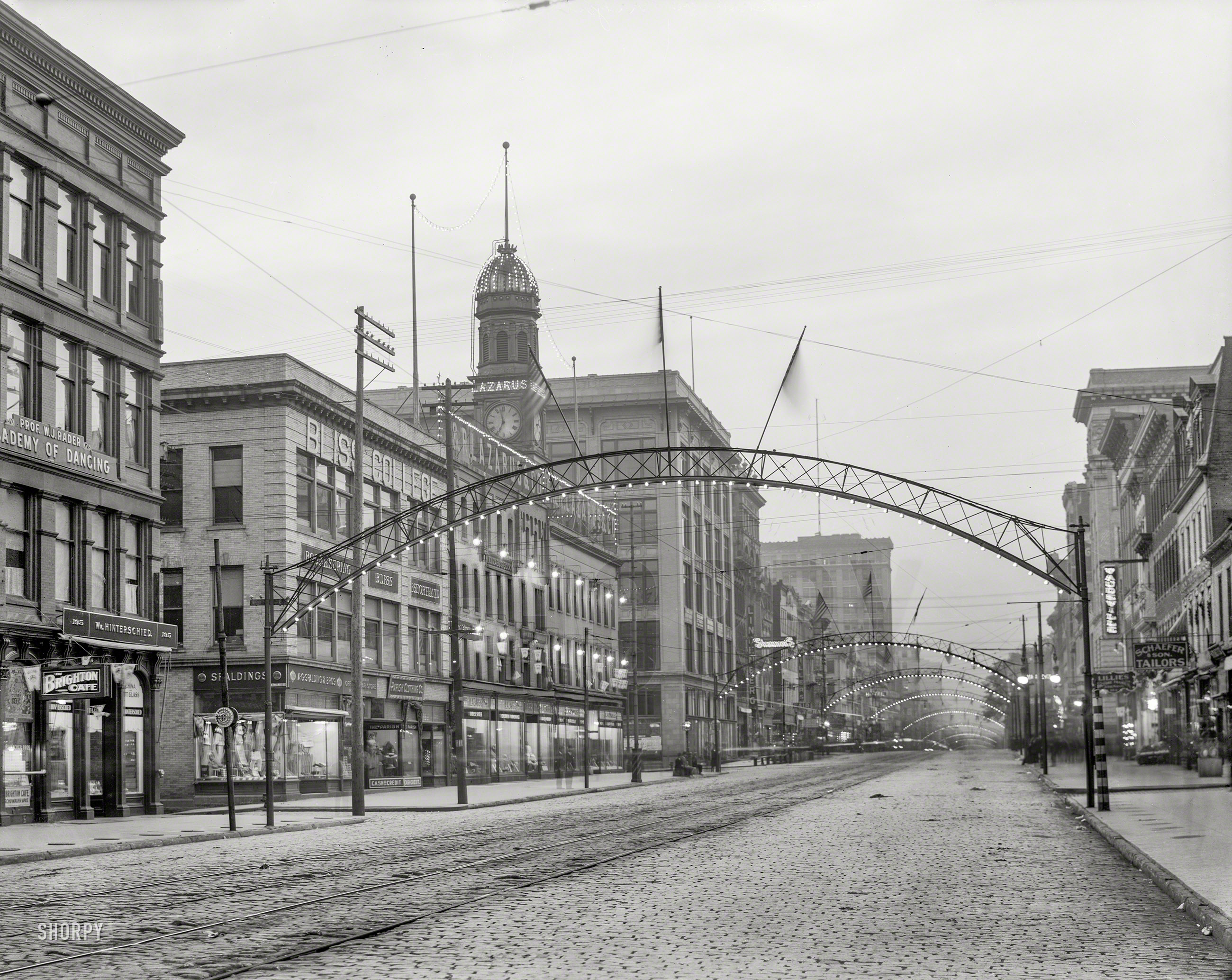 Shorpy Historic Picture Archive Columbus Night 1908 High
