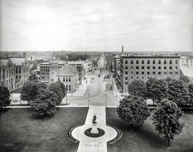 Michigan Avenue: 1909