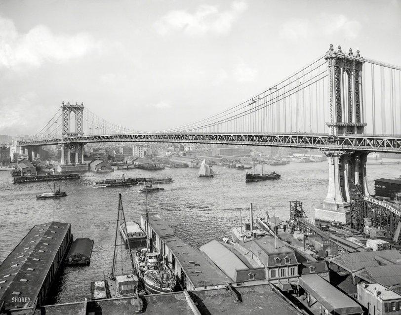 River Traffic: 1910