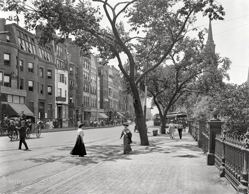 Boylston in Boston: 1910