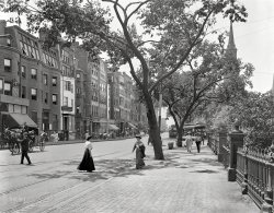 Boylston in Boston: 1910