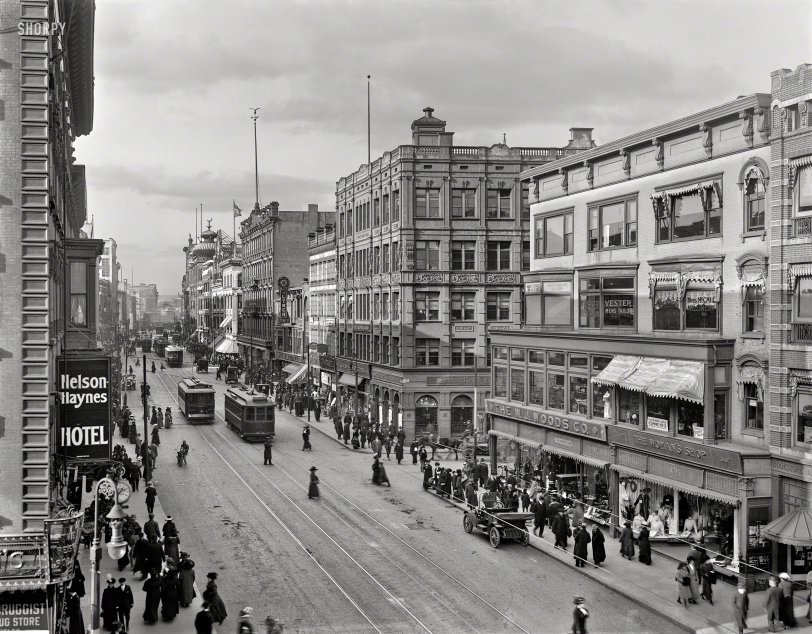 Sidewalks of Springfield: 1910