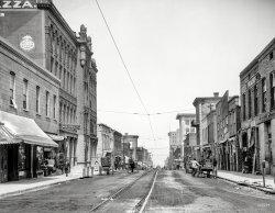 Vicksburg Street View: 1909
