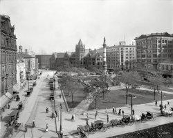 Lafayette Square: 1911